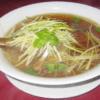 354 - Soupe de nouilles au canard mariné